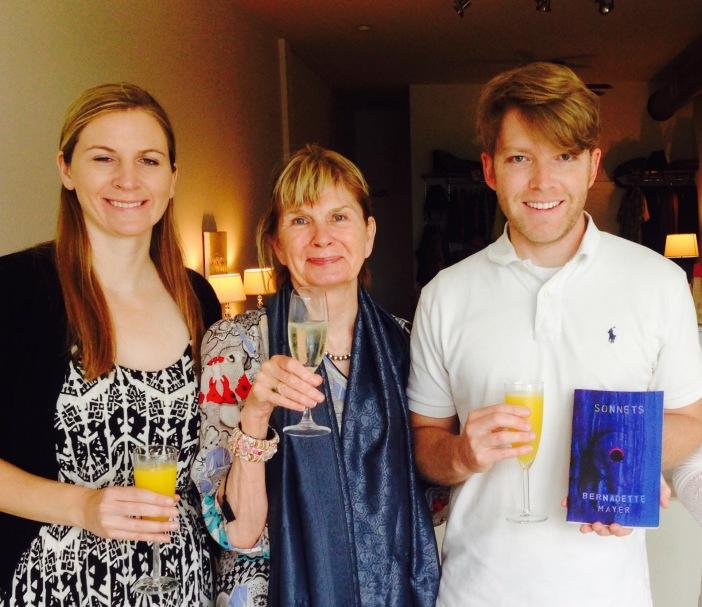 Bernadette Mayer Birthday Party May 10, 2015