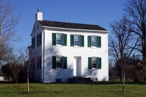 Cary Cottage, childhood home of Alice and Phoebe Cary near Cincinnati, Ohio