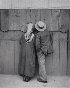 Andre Kertesz (1894 - 1985)  Circus, Budapest, 19 May 1920 Denver Art Museum #lateantiquitystudiesbudapest2014