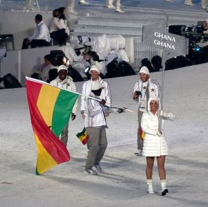 2010 Opening Ceremony - Ghana entering CC BY 2.0v Jude Freeman