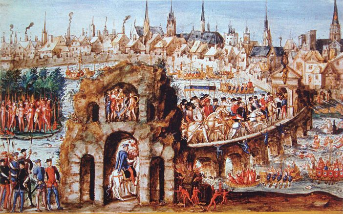 For the royal entry of Henry II in Rouen, 1 October 1550