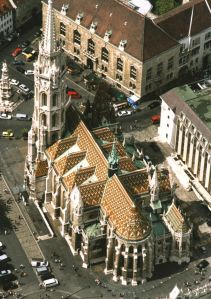 """Buda Castles-Matthias Church"". Licensed under Creative Commons Attribution-Share Alike 2.5 via Wikimedia Commons"