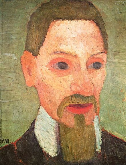 Portrait of Rilke by Paula Modersohn-Becker. 1906.