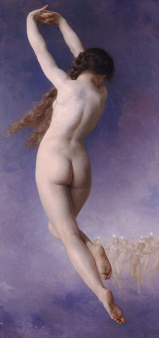 Lost Pleiad (1884) by William-Adolphe Bouguereau.