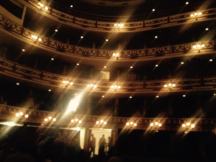 Teatro Macedonia Alcala Oaxaca, Mexico March 2015