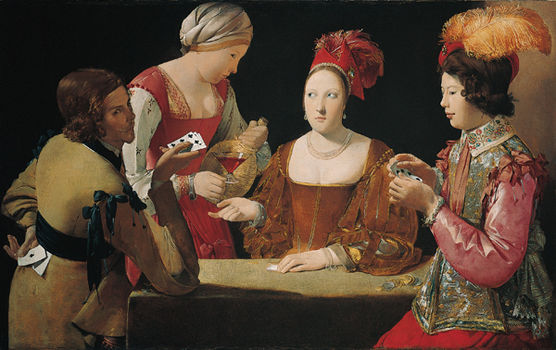 Georges de La Tour French (1593–1652) 17th century c. 1630-34 Oil on canvas Kimball Art Museum,  Fort Worth, TX