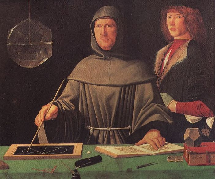 Portrait of Luca Pacioli, the Father of Accountancy