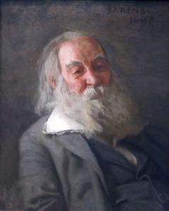 Portrait of Whitman by Thomas Eakins, 1887–88