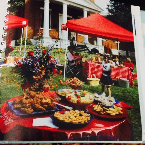 Tailgating in the Grove Source: Square Table  Wimmer Cookbooks, 2005 Photography by Langdon Clay