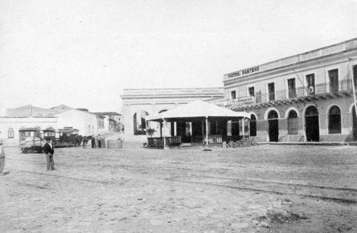 Asunción's Downtown in 1872