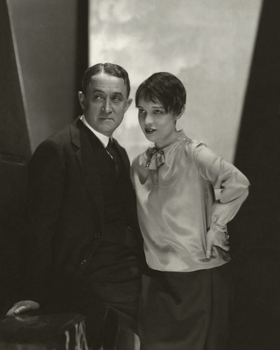 Anita Loos and John Emerson by Edward Steichen for Vanity Fair, July 1928