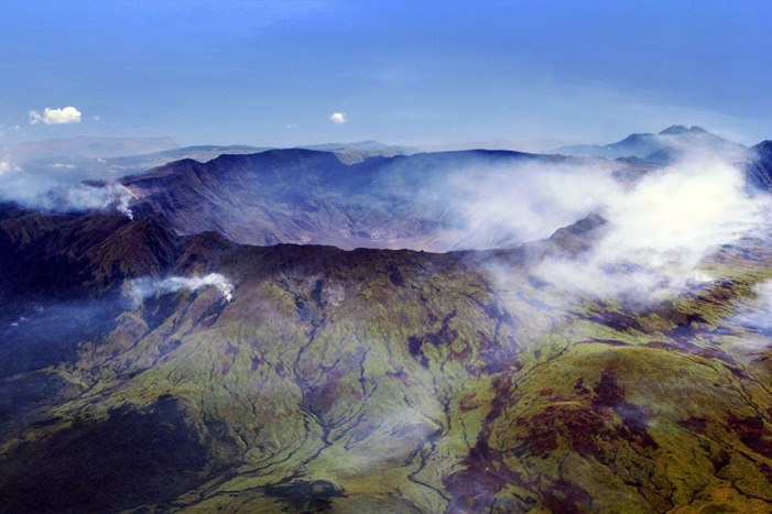 Mt. Tambora Sumbawa, Indonesia Its eruption in 1815 caused global anomalies, including the year without a summer in 1816.
