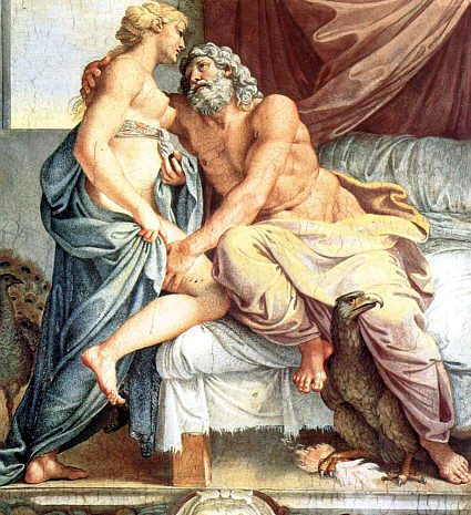 Jupiter and Juno, by Annibale Carracci.