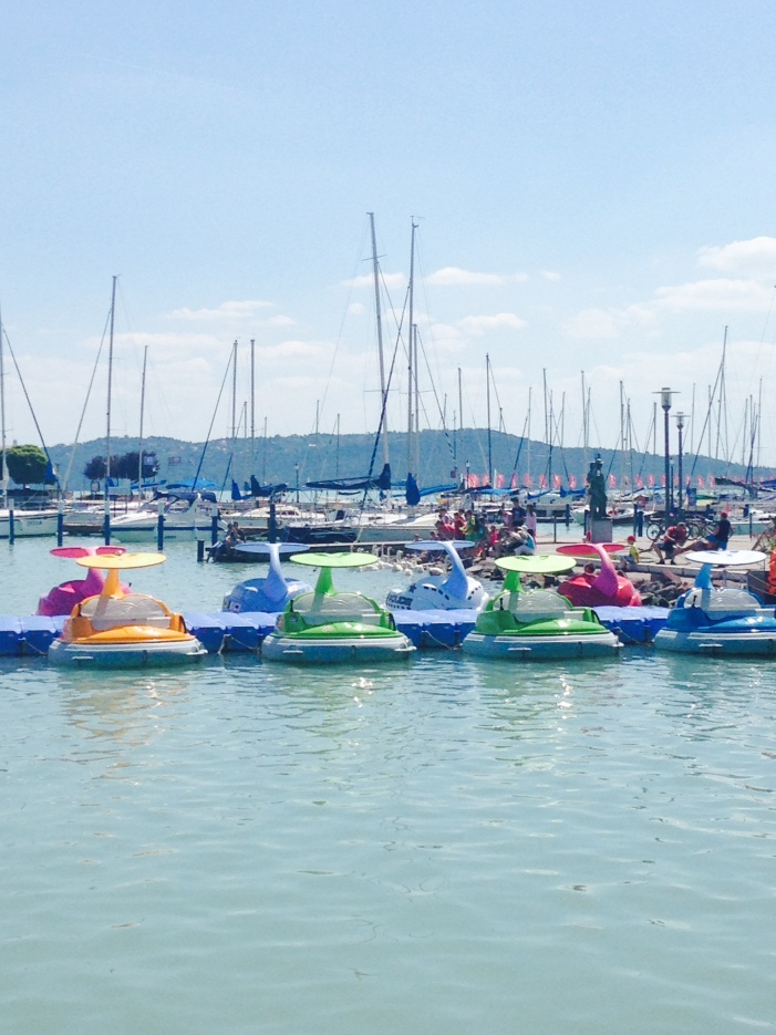 Lake Balaton, Hungary July 2014