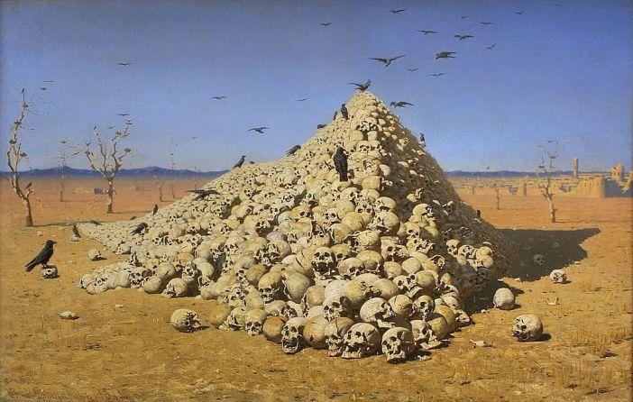 The Apotheosis of War (1871) by Vasily Vereshchagin