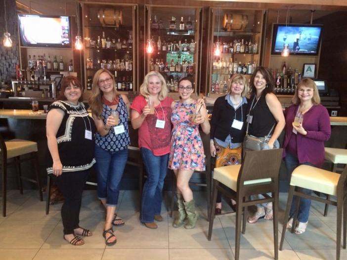 Urban Bourbon Trail with Spalding alums, Slay at Hyatt Regency, Louisville, KY