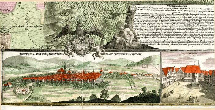 Weissenburg-im-Nordgau in 1725