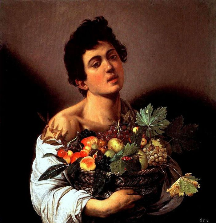 Caravaggio's Boy with a Basket of Fruit (1592
