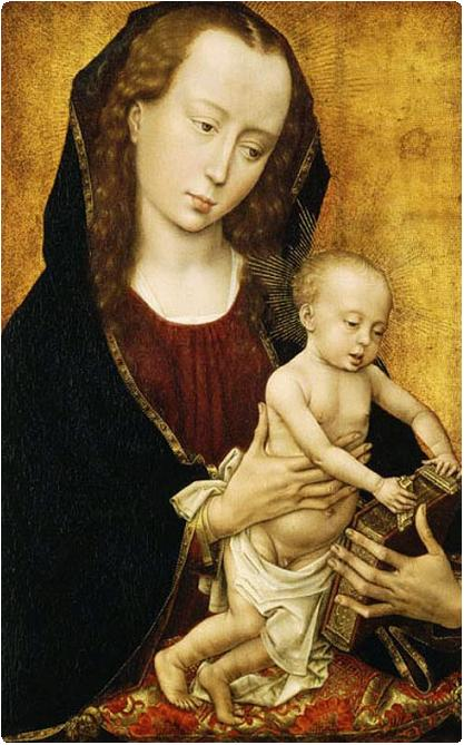 Madonna_and_Child_Rogier_van_der_Weyden